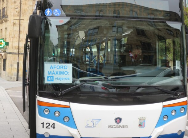 autobus urbano aforo
