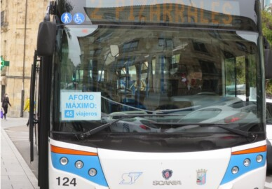 autobus urbano aforo pizarrales