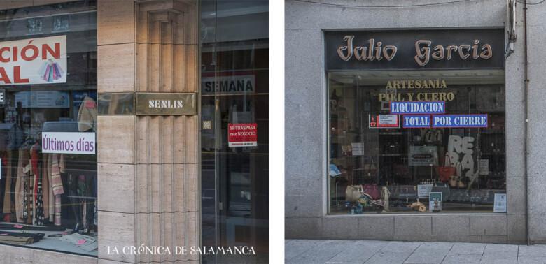 Cincuenta años llevan abiertos al público Senlis y Julio García, en Salamanca