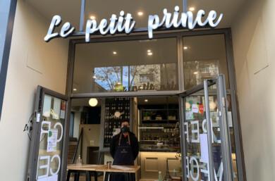 Guillermo, responsable de Le Petit Prince, establecimiiento ubicado en la avenida de Portugal.