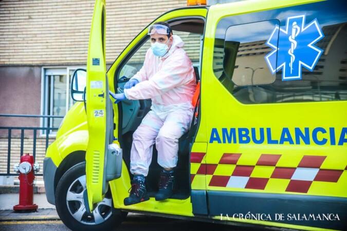 hospital clinicio ambulancia coronavirus david martin sanchez