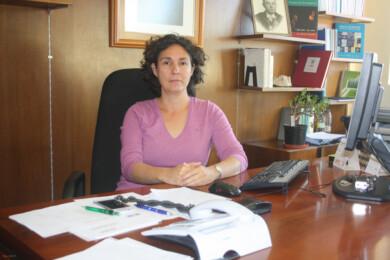 Mar Siles, directora del IRNASA. FOTO. Dicyt.