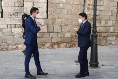 pedro sanchez conte italia moncloa