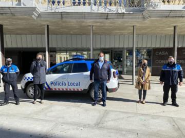 El nuevo coche de la Policía Local de Guijuelo.