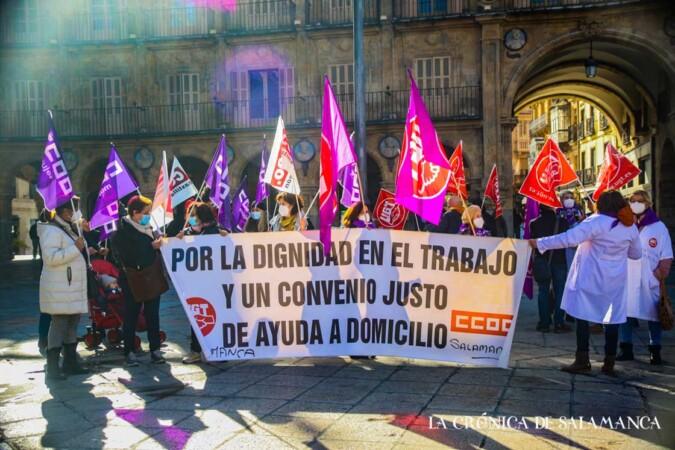 protesta manifestacion ayuda domicilio david martin (3)
