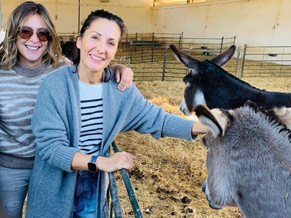 Sandra Barneda y Nagore Robles.