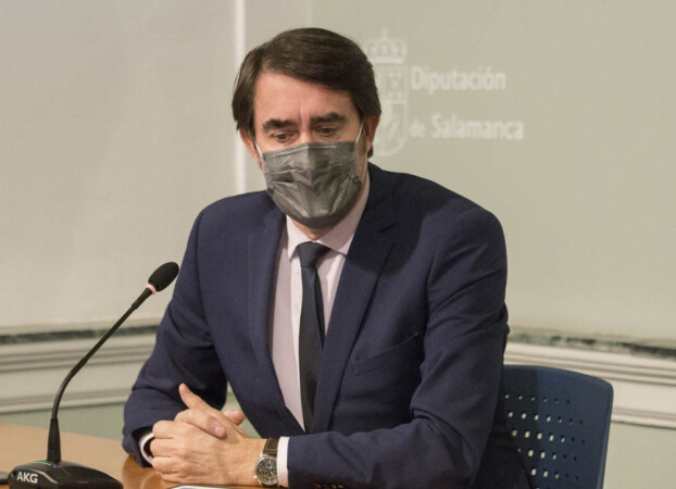 Susana Martín / ICAL . El consejero de Fomento y Medio Ambiente, Juan Carlos Suárez-Quiñones