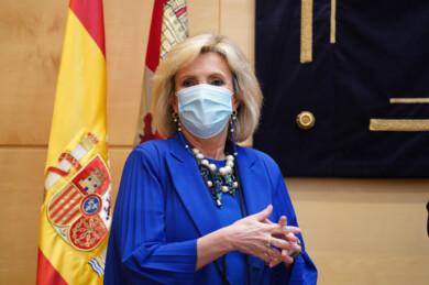 Dos Santos / ICAL. La consejera de Sanidad, Verónica Casado