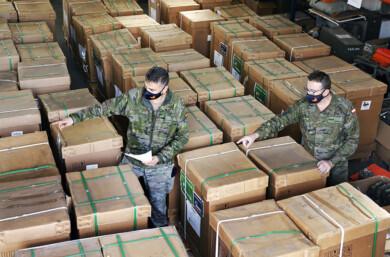 Iberdrola dona 50 equipos de respiración al Ejército para seguir combatiendo la Covid-19.