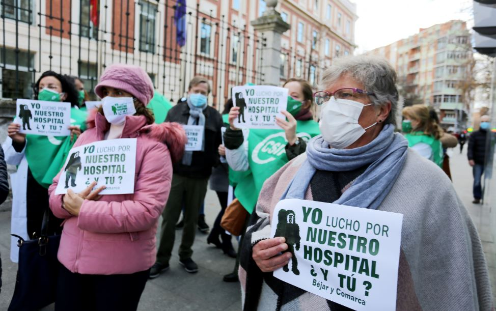 bejar hospital protesta consejeria sanidad ical