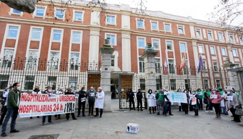 bejar protesta firmas hospital consejeria sanidad ical