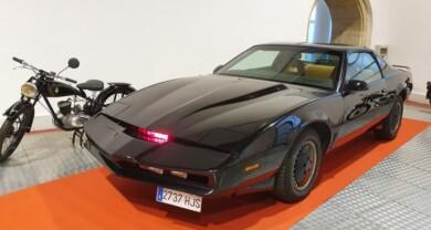 coche fantastico kitt museo automocion