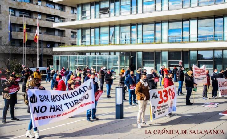 hosteleros protesta hosteleria david martin