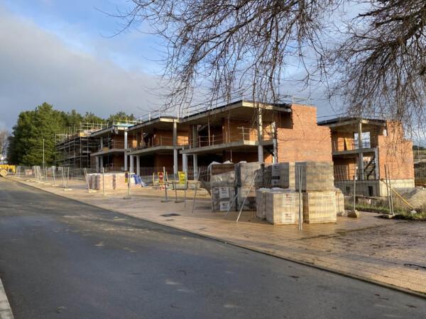 Las viviendas de protección oficial -VPO- de Guijuelo.
