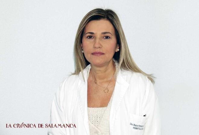 La hematóloga María Victoria Mateos lidera el grupo de trabajo con grandes resultados