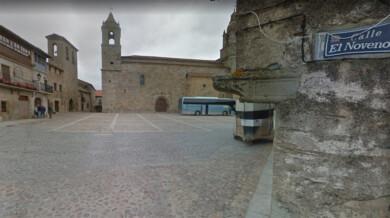 Plaza de San Felices de los Gallegos.