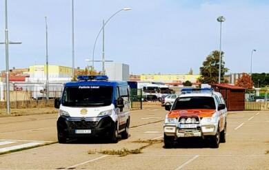 Policía Local y Protección civil de Aranda de Duero, Burgos.