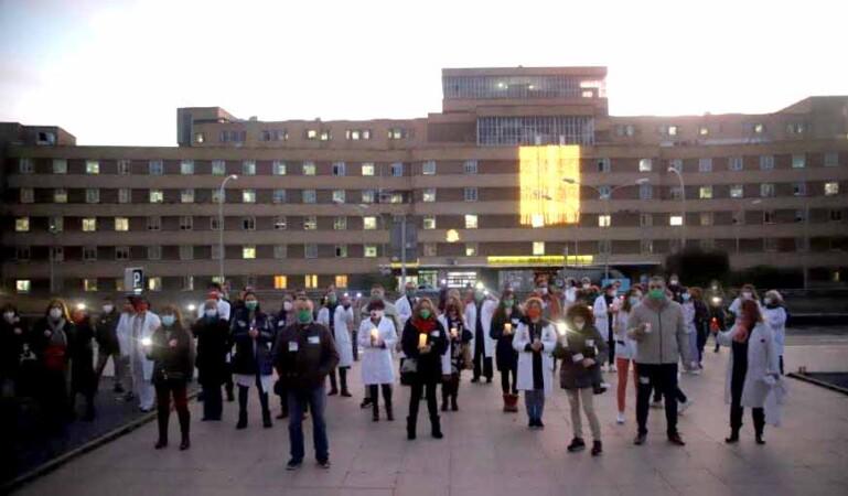 protesta sanitarios decreto junta 3