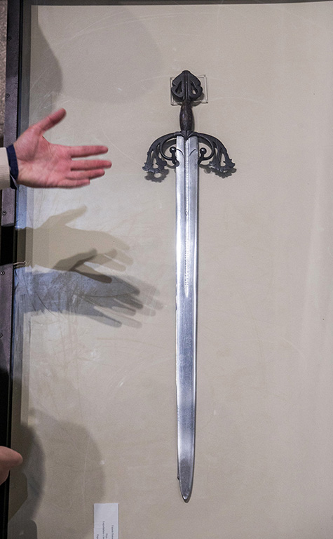 Ricardo Ordóñez ICAL . Espada Tizona de El Cid