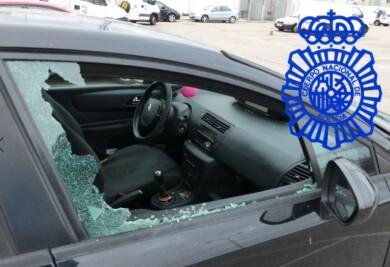 robo coche policia 2