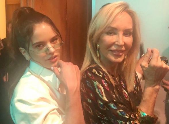 Rosalía y Carmen Lomana.