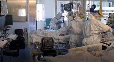 uci hospital clinico coronavirus