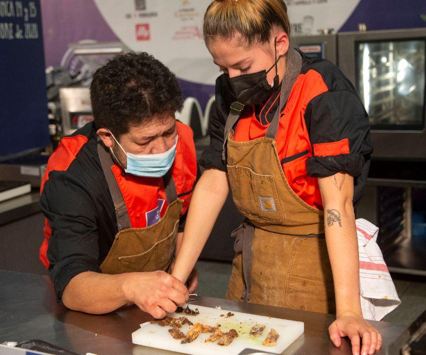 victor gutierrez y su hija cocnurso cyl cocineros ical