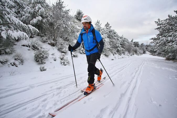 Vicente / ICAL . Nieve en la Sierra de Béjar (Salamanca)