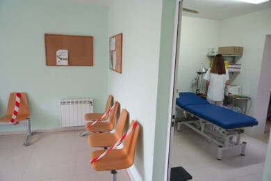 ICAL. Sala de espera de un consultorio médico.