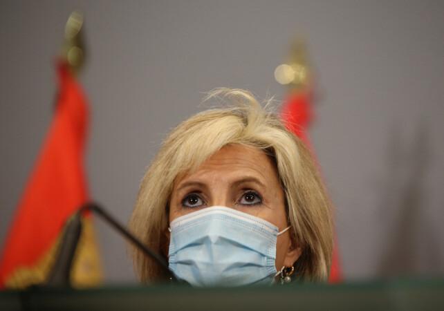Leticia Pérez / ICAL . La consejera de Sanidad, Verónica Casado