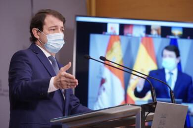 Dos Santos / ICAL. El presidente de la Junta de Castilla y León, Alfonso Fernández Mañueco,