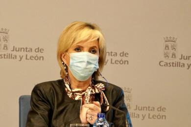 Miriam Chacón / ICAL. La consejera de Sanidad Verónica Casado