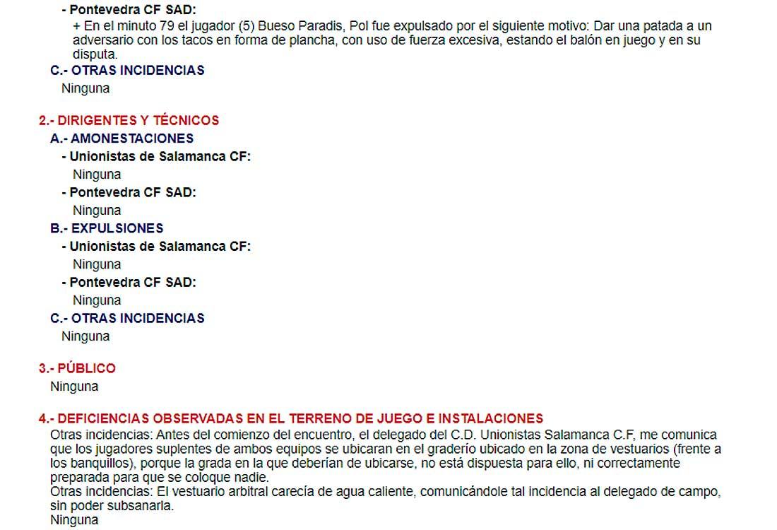Acta Unionistas - Pontevedra