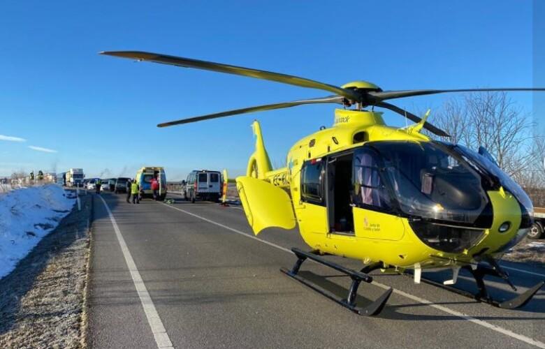 helicoptero accidente segovia