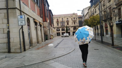 lluvia viento