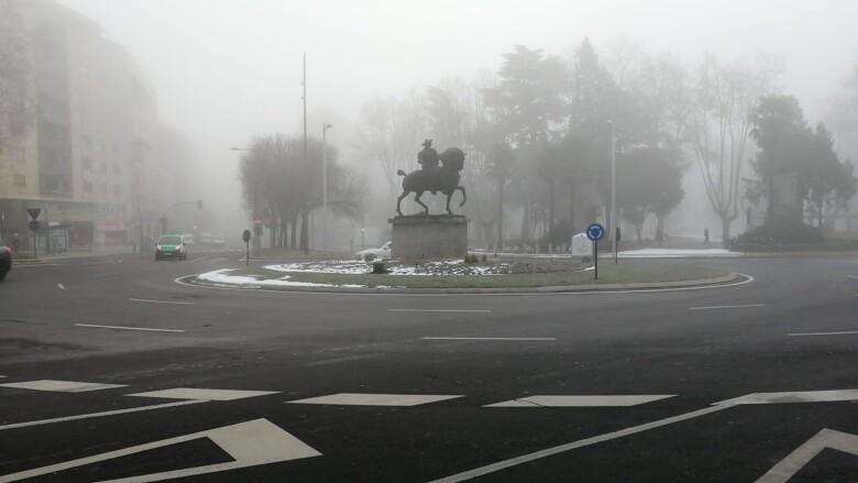 Salamanca capital y algunas carreteras de la provincia han amanecido con niebla.