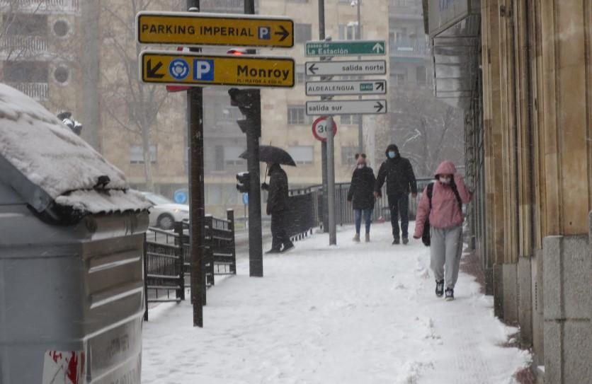 nieve aceras peligrosas