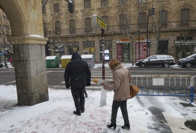 nieve riesgo caida
