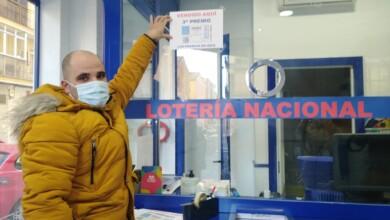 La administración Los Manolos vendieron el tercer premio del sorteo del Niño.