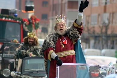 reyes magos cabalgata leon ical