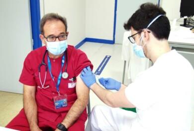 vacuna sanitario jefe urgencias