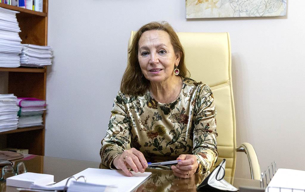 Susana Martín / ICAL. Luisa Ventola, psicóloga de la Asociación Salmantina de Jugadores de Azar Rehabilitados (Asaljar)