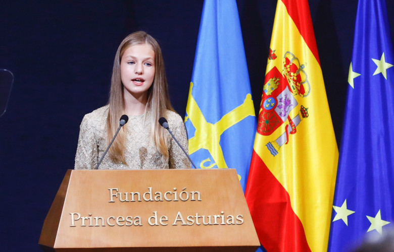 Princesa de Asturias, Leonor Borbón Ortiz. Foto. Twitter Casa Real.
