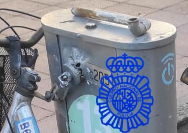 salenbici bici policia