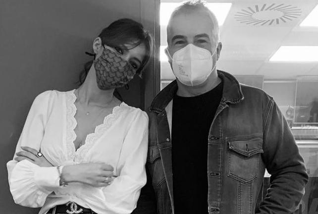 Sara Carbonero y David Cantero. Foto. Instagram.