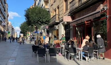terraza calle zamora enero 2021