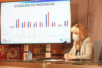Dos Santos / ICAL . La consejera de Sanidad, Verónica Casado