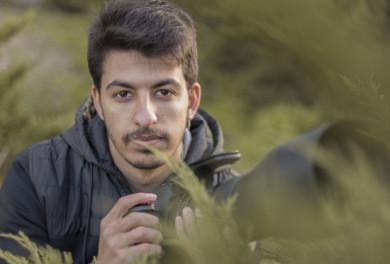 El fotógrafo salmantino Sergio Camacho Sánchez.