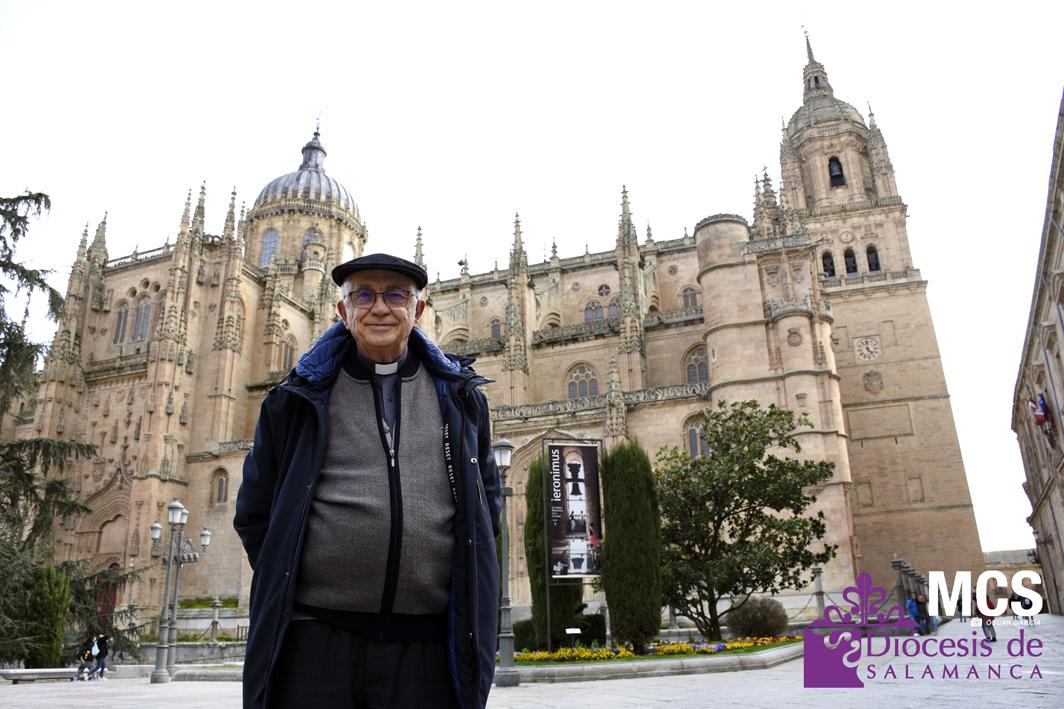 Antonio Matilla, nuevo dean de la Catedral. Foto. Óscar García.