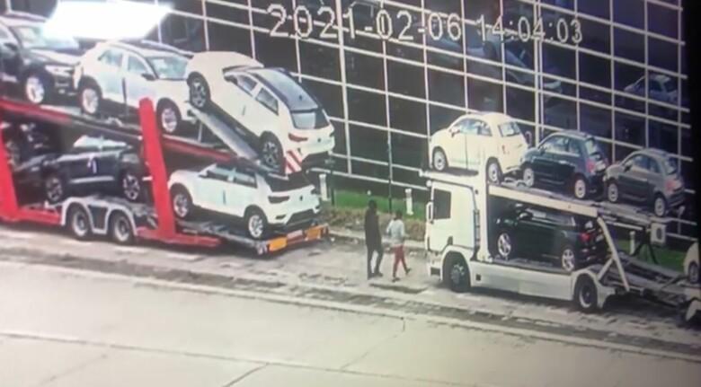 guardia civil robo poligonos camiones